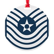 USAF-MSgt-Old-Blue Ornament