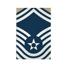 USAF-CMSgt-Old-Journal-3 Rectangle Magnet