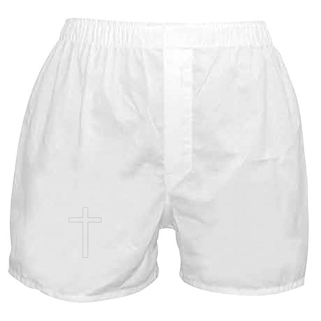 Simple Cross Boxer Shorts