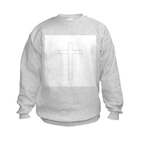 Simple Cross Kids Sweatshirt