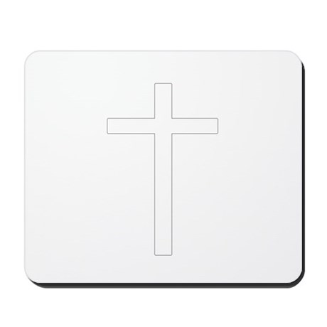 Simple Cross Mousepad