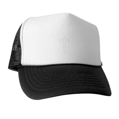 Simple Cross Trucker Hat
