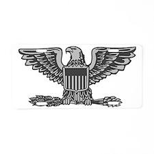 USAF-Col-Silver-Lighter Aluminum License Plate