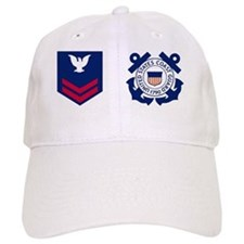 USCG-Rank-PO2-Crow-Mug Baseball Cap