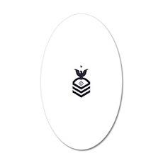 USCG-Rank-PSCS-Blue-Diamond 20x12 Oval Wall Decal
