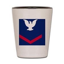 USCG-Rank-PO3-Journal-Crow Shot Glass
