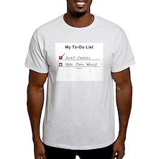 My To-Do List Ash Grey T-Shirt