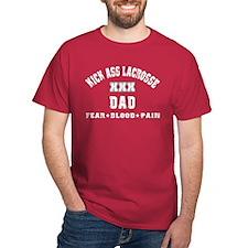 Kick Ass Lacrosse DAD T-Shirt
