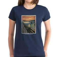 Edvard Munch Scream (Front) Tee