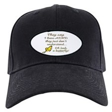 ADHD Butterfly Baseball Hat