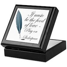 Shakespeare Food Of Love Keepsake Box