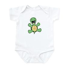 Skuzzo Happy Turtle Infant Bodysuit