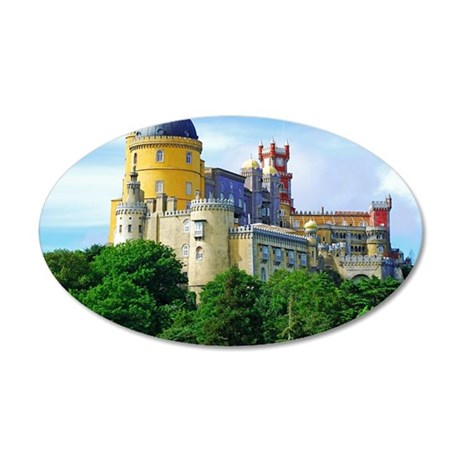 Pena Palace  35x21 Oval Wall Decal