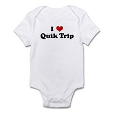 I Love Quik Trip Infant Bodysuit