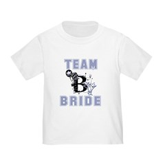 team bride toddler tee