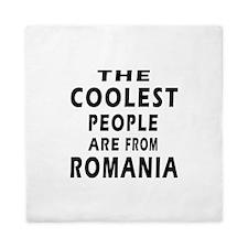 The Coolest Romania Designs Queen Duvet