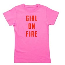 Girl On Fire Girl's Tee