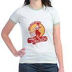 I know SUDOKU Jr. Ringer T-Shirt