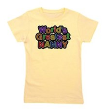 Worlds Greatest Nanny Girl's Tee