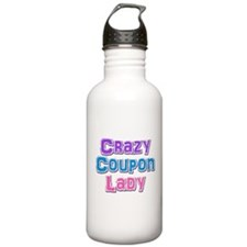 Crazy Coupon Lady Water Bottle