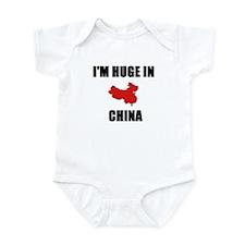 I'm Huge In China Infant Bodysuit