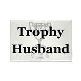 Trophy Husband Rectangle Magnet (10 pack)
