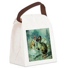 Alice in Wonderland with the Dodo Canvas Lunch Bag