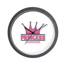 Custom Princess Wall Clock