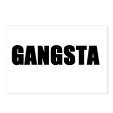 Gangsta Postcards (Package of 8)