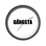 Gangsta Wall Clock
