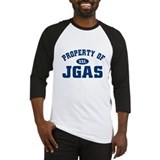 property of JGAS Baseball Jersey