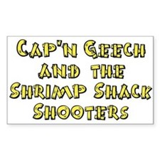 Shrimp Shack Rectangle Decal