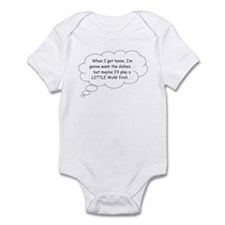 WoW Dishes Infant Bodysuit