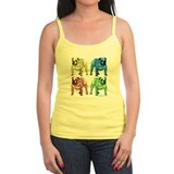 4 Color Bulldog Tank Top