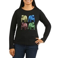 4 Color Bulldog T-Shirt