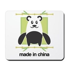 Made in China Panda Mousepad