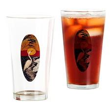 Egret Lover Drinking Glass