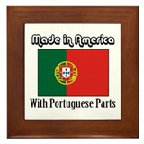 Portuguese Parts Framed Tile