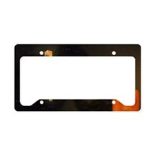 Minecraft outside the box License Plate Holder