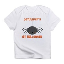 Personalized 1st Halloween Spider Infant T-Shirt