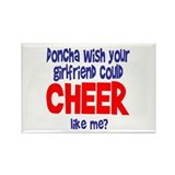 "CheerChick ""Doncha"" Rectangle Magnet (10 pack)"