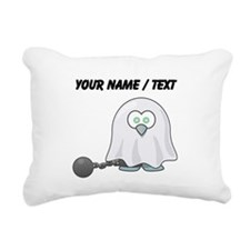 Custom Ghost Penguin Rectangular Canvas Pillow