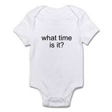 What time is it? Infant Bodysuit