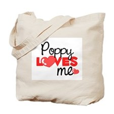 Poppy Love Me (red) Tote Bag