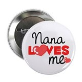 Nana Love Me (red) Button