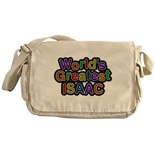 Worlds Greatest Isaac Messenger Bag
