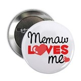 Memaw Love Me (red) Button