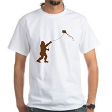 Bigfoot Stole My Kite 2-sided T-Shirt