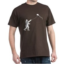 Bigfoot Stole My Kite 1-Sided T-Shirt