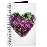 Lilac Heart Art #1 Journal